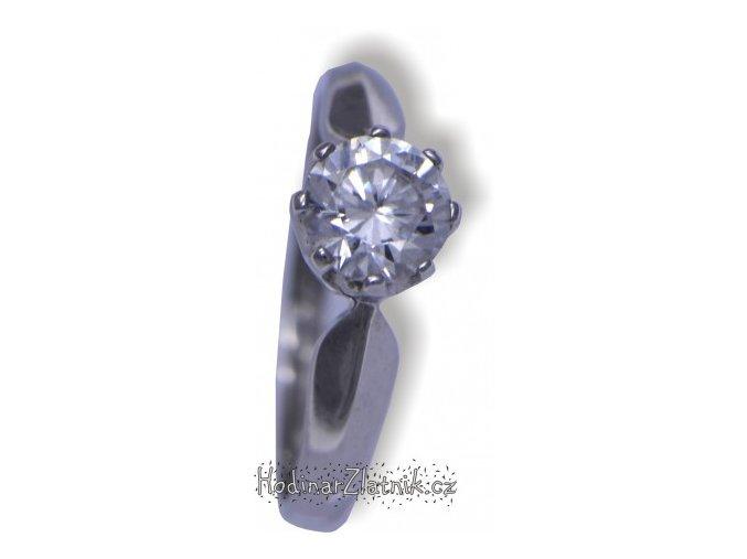damsky prsten z bileho zlata dor21163461105