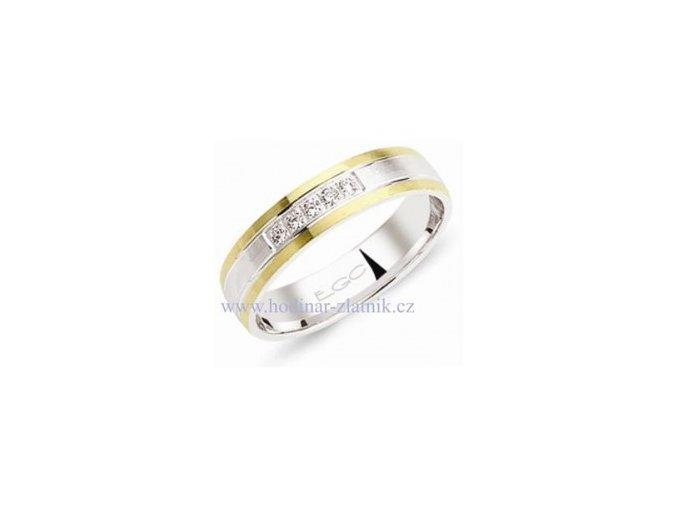 Snubní prsten EGC F1519C 49 velikost: