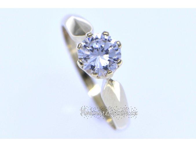 dámský prsten ze žlutého zlata DOR21163461105
