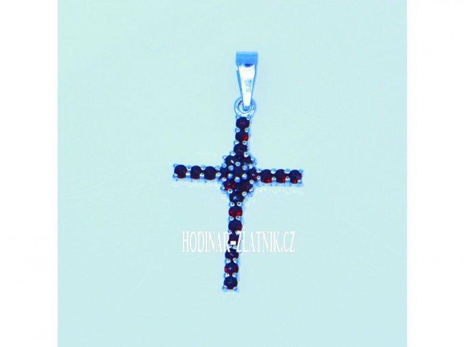 141249450016471249  Křížek s Českým granátem