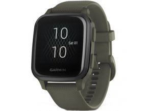 Venu Sq Music, Slate/Green Band GARMIN