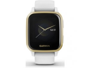 Venu Sq, LightGold/White Band GARMIN
