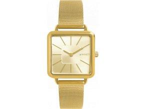 Zlaté dámské hodinky MINET OXFORD ALL GOLD MESH