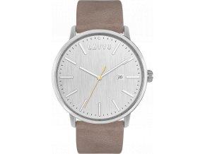 Pískově šedé pánské hodinky LAVVU COPENHAGEN COAST