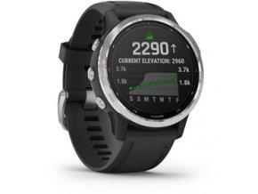 Fenix6S Solar Silver/Black Band GARMIN
