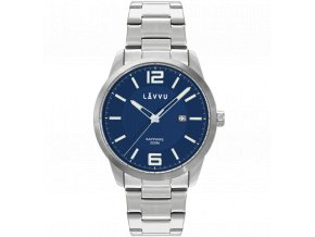 20 ATM Pánské hodinky se safírovým sklem LAVVU DYKKER Blue