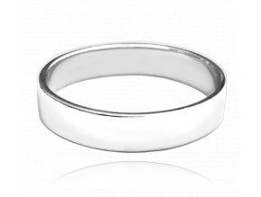 Stříbrný snubní prsten MINET vel. 49