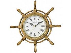 Rhythm Nástěnné hodiny námořní kormidlo CMG513NR18