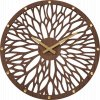 Impozantní tmavé dřevěné hodiny LAVVU WOOD