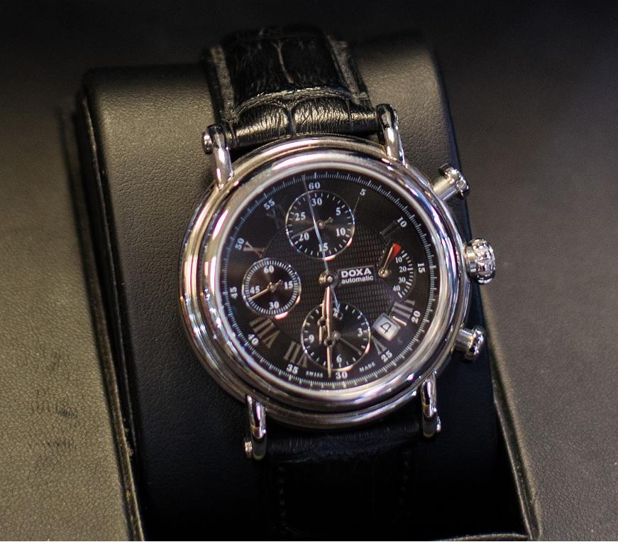 Luxusní pánské hodinky DOXA