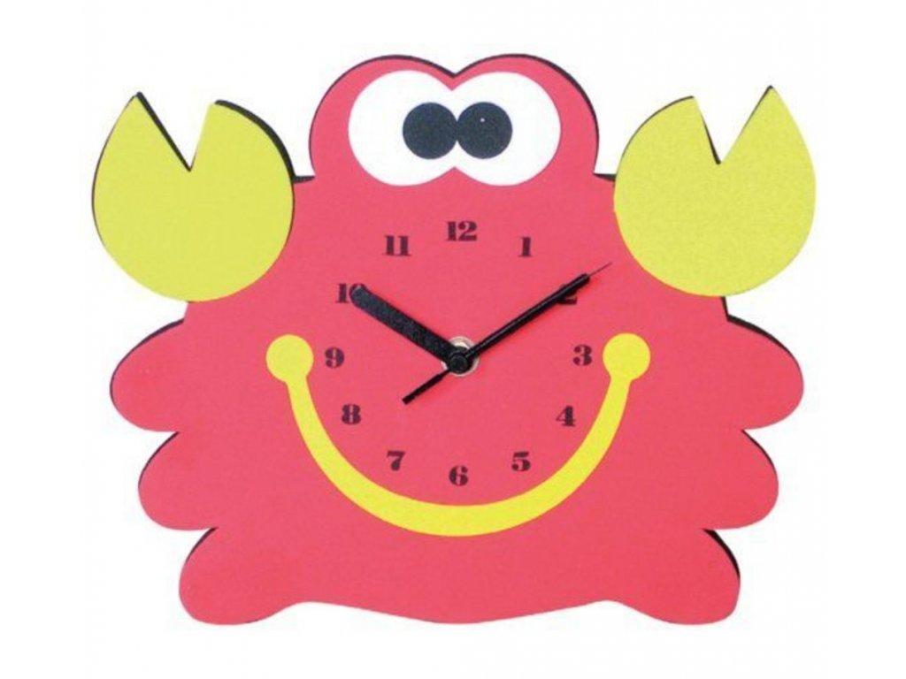 Dětské nástěnné hodiny JVD La Fantaisie LC210