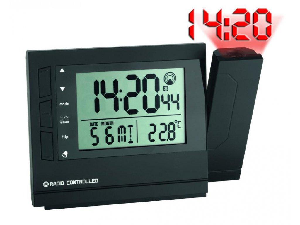Rádiem řízené hodiny s projektorem a teploměrem TFA 60.5008