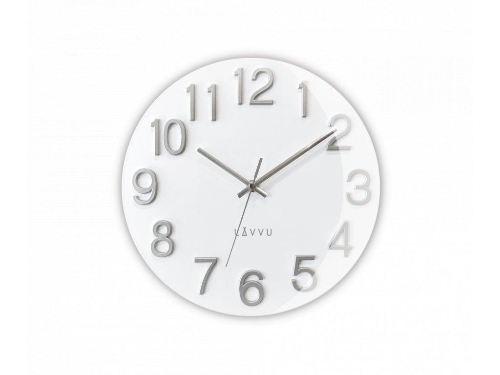 Bílé hodiny LAVVU NORD White
