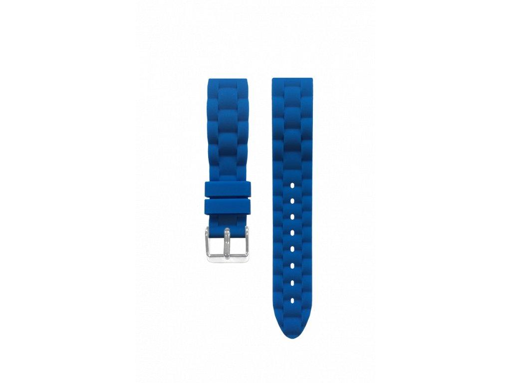 Silikonový modrý řemínek k dětským hodinkám CLOCKODILE