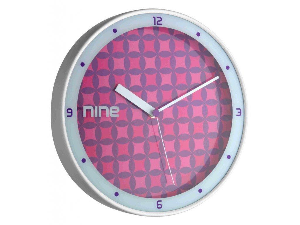 Nástěnné hodiny TFA 98.1100 - fialové
