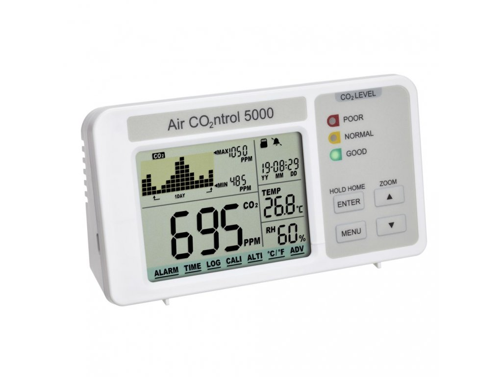 Indikátor oxidu uhličitého TFA 31.5008 AIRCO2NTROL 5000