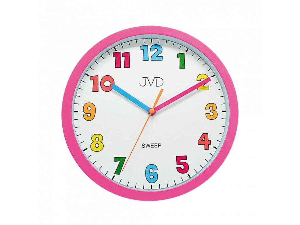 Nástěnné hodiny JVD sweep HA46.2   nk