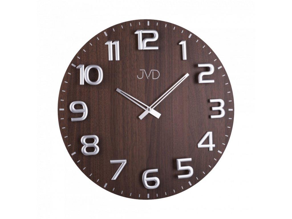 Designové dřevěné hodiny JVD HT075   nk