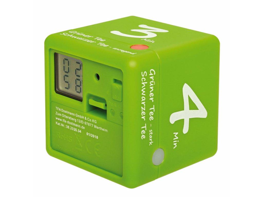TFA 38.2035.04 - Digitální časovač CUBE - na čaj