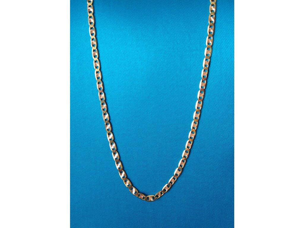 Zlatý řetízek AU 585/1000 4,02 g