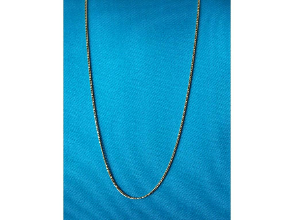 Zlatý řetízek AU 585/1000 1,95 g