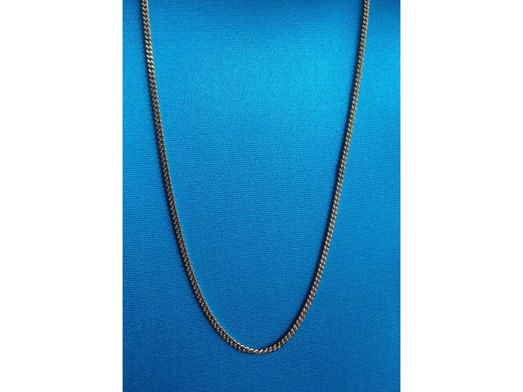 Zlatý řetízek AU 585/1000 2,70 g
