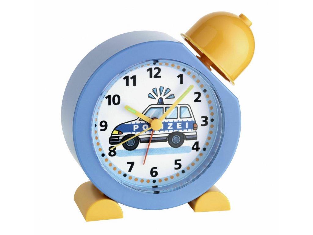 TFA 60.1011.06 - Dětský budík  se zvukem policejní sirény