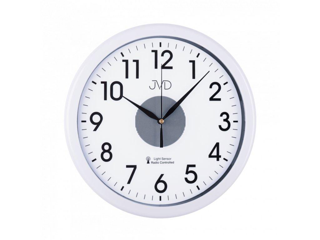Rádiem řízené nástěnné hodiny JVD RH692.1