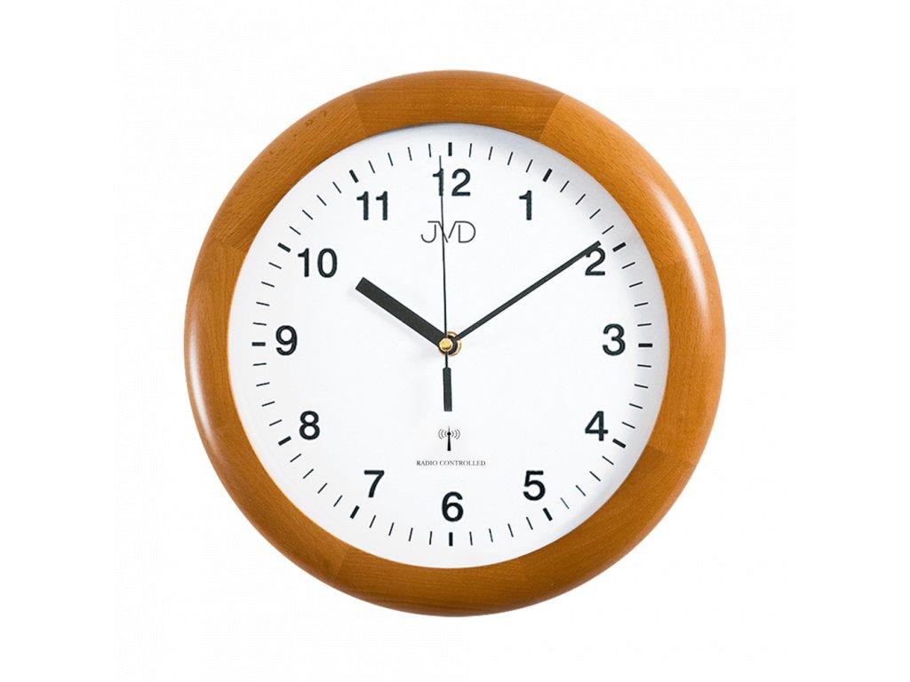 Rádiem řížené nástěnné hodiny JVD system RH2341/41