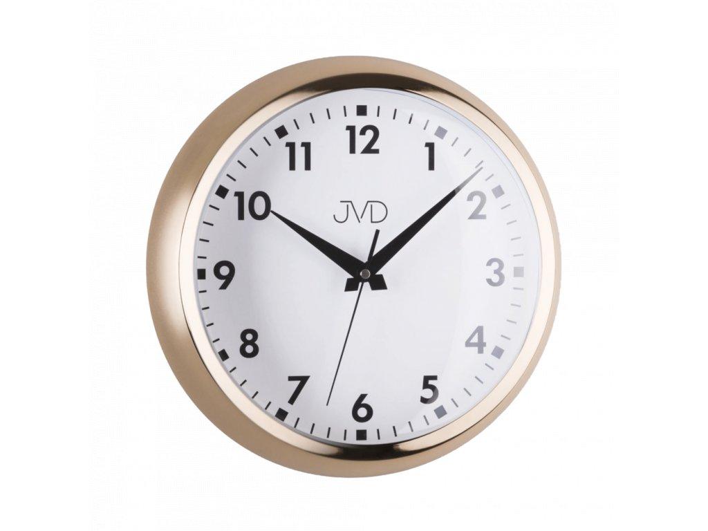 Designové kovové hodiny JVD HT077.2