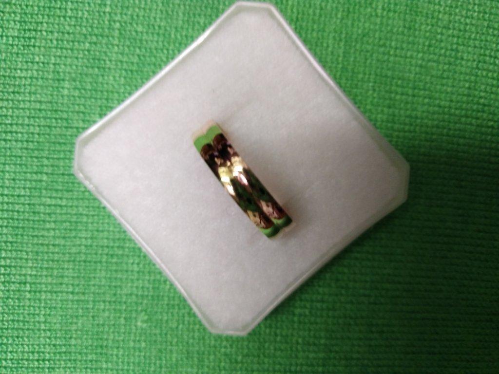 Snubní prsten 585/1000