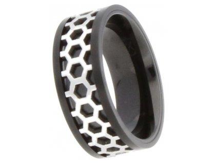 Ocelový prsten SSR3.30H3