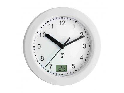 Koupelnové hodiny s přísavkami a teploměrem řízené DCF signálem TFA 60.3501