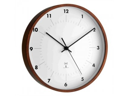 Rádiem řízené nástěnné hodiny TFA 98.1097