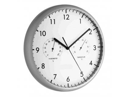 TFA 98.1072 - Nástěnné hodiny s teploměrem a vlhkoměrem