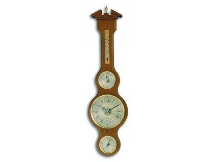 TFA 45.3004.01 - Meteostanice kaplička s teploměrem, vlhkoměrem, barometrem a hodinami