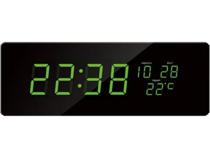 Digitální hodiny JVD zelená čísla DH2.1 nk