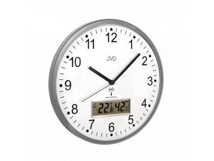 Rádiem řízené nástěnné hodiny JVD RH78.1   nk
