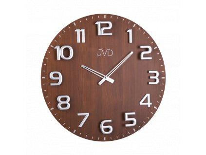 Designové dřevěné hodiny JVD HT075.2   nk