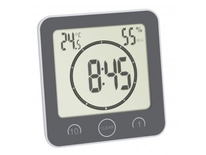 TFA 60.4001.10 - Hodiny do kuchyně či koupelny s časovačem