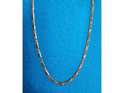 Zlatý řetízek AU 585/1000 8,58 g