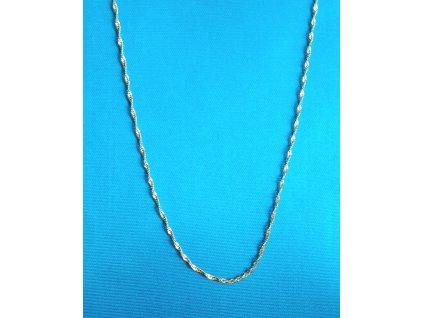 Zlatý řetízek AU 585/1000 1,15 g
