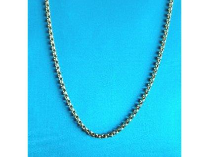 Zlatý řetízek AU 585/1000 6,47 g