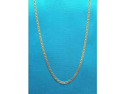 Zlatý řetízek AU 585/1000 5,00 g