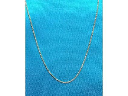Zlatý řetízek AU 585/1000 2,73 g