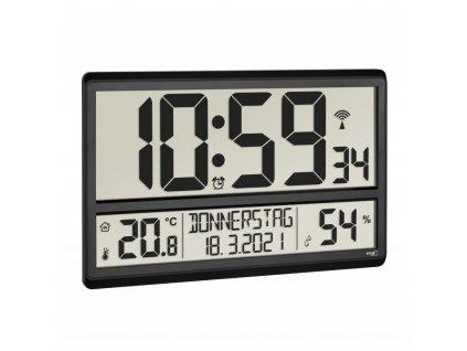 TFA 60.4520.01 - Nástěnné hodiny s vnitřní teplotou a vlhkostí