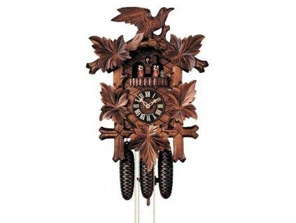 No. 8600/5T - Ručně řezané kukačky Hönes s osmidenním strojkem a s MELODIÍ