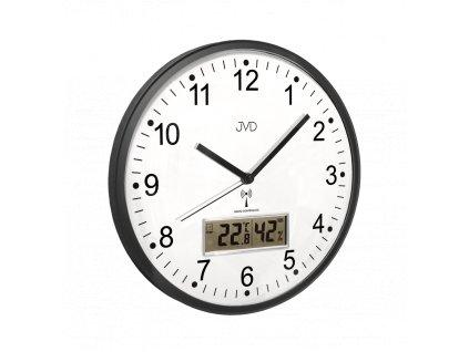 Rádiem řízené nástěnné hodiny JVD RH78.2
