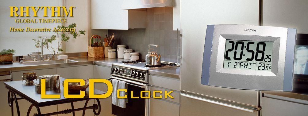 LCD hodiny