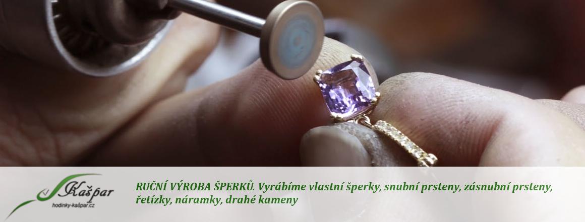 Ruční výroba šperků
